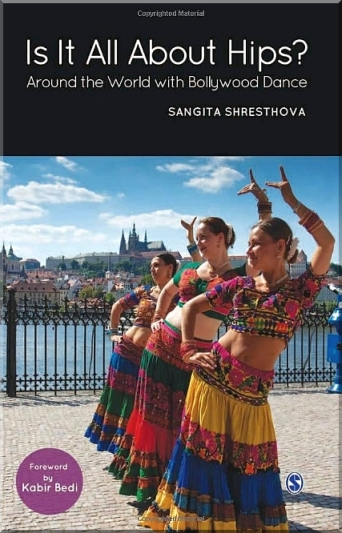 cover of bollywood dance book